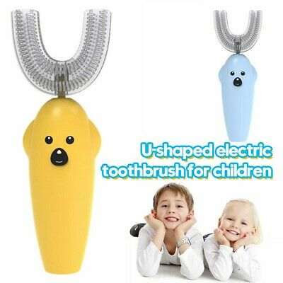 AU14.79 • Buy Children Tooth Brush U-Shaped Automatic 360°Electric ToothBrush Gift AU