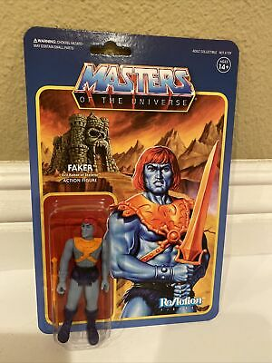 $16.99 • Buy Masters Of The Universe ReAction Super7 3.75 Action Figure Faker He-Man MOTU