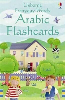 £6.94 • Buy Everyday Words In Arabic Flashcards By Felicity Brooks 9781409505860   Brand New