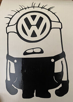 £2.50 • Buy Vw  Minion Vinyl Sticker Decal Novelty Giftcar Window Funny Decal
