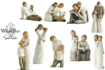 £22.95 • Buy Willow Tree Figurine Father Mother Son Daughter Sister Brother Baby Mum Dad Gift