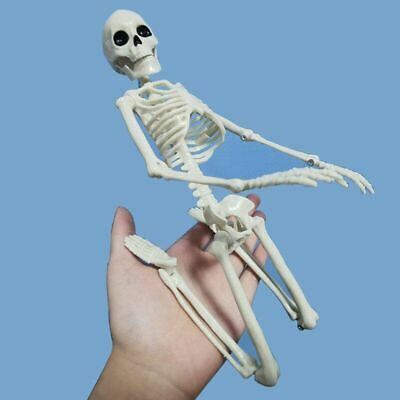 $ CDN15.71 • Buy Portable Mini Skeleton Props Creative Poseable Halloween Home Party Decoration
