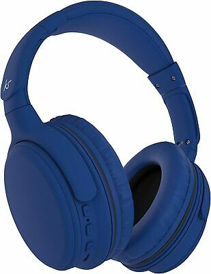 $ CDN19.85 • Buy KitSound Slammer Wireless On-Ear Headphones With Built-In Microphone, Blue