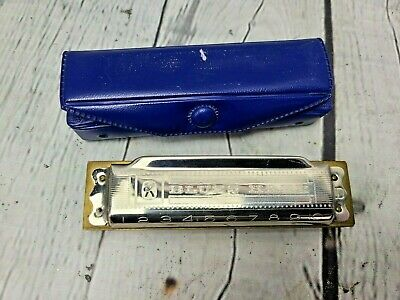 $24.99 • Buy M. HOHNERS Blues Harp Harmonica Key Of D Made In Germany In Original Box