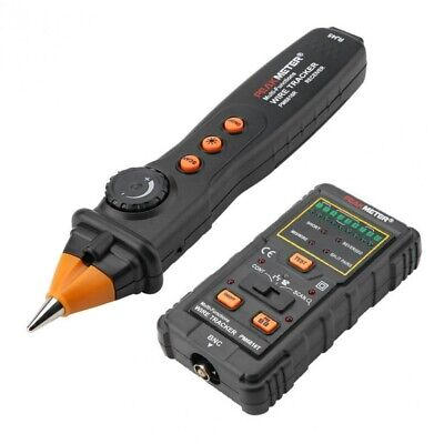 Network RJ11 RJ45 Cable Finder Tracker Wire Tone Generator Probe Tracer W/ Bag • 38£