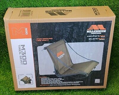 $88.39 • Buy Millennium Treestands M300 Lightweight Tree Seat W/ Backpacking Strap - M-300-00