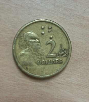 AU4 • Buy Australian 1988/89 $2 Two Dollar Coin -  HH  Initials Horst Hahne - Circulated