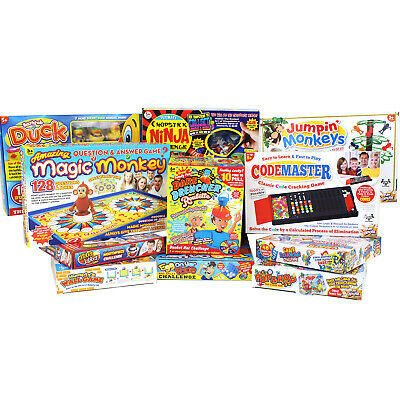 £7.99 • Buy Classic Traditional Family Board Games Full Size Fun Kids Adults Party Toys Gift