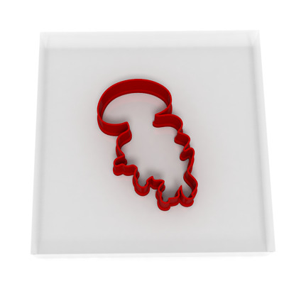 £3.99 • Buy 8CM Jellyfish Cookie Cutter Biscuit Dough Icing Shape Biscuit Cake Sea Fish