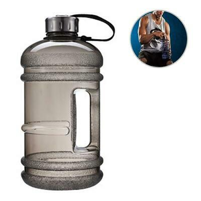 New 2.2L Big Large BPA Free Sport Gym Training Drink Water Bottle Kettle Camping • 7.95£