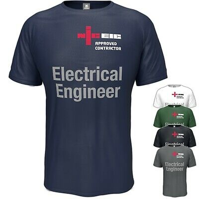 £11.95 • Buy NICEIC T-Shirt Electrician Electrical Engineer Workwear S - 5XL