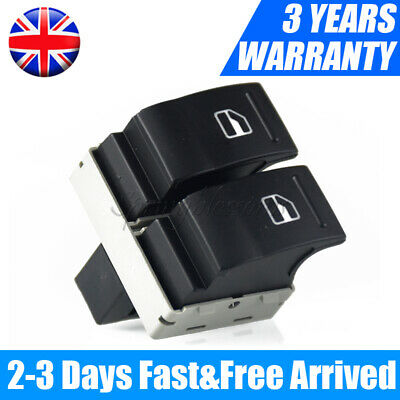 £7.99 • Buy Electric Window Double Switch Driver Side Fit VW Transporter T5 T6 Caravelle UK*