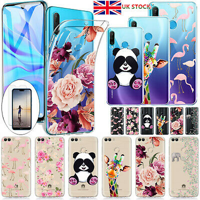 £4.59 • Buy Case For Huawei P30 P40 Lite Y6 Y7 2019 Shockproof Soft TPU Phone Cover Silicone