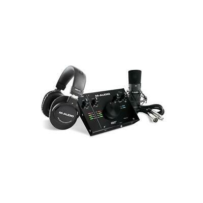 $219 • Buy M-Audio AIR 192 4 Vocal Studio Pro Complete Vocal Production Package