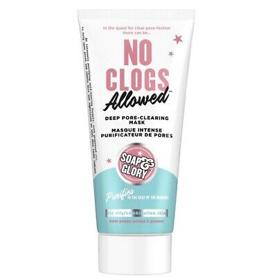 £9.99 • Buy Soap & Glory No Clogs Allowed Deep Pore-Clearing,100ml