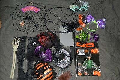£15 • Buy Halloween Party Lot Decorations Spider Cake Pop Stand Posters Hats Glasses Props