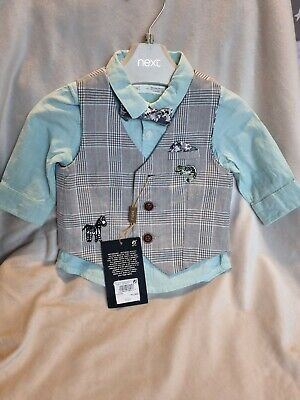£17 • Buy Baby NEXT Shirt And Bow Tie 3-6 Months Brand New With Tags Brand NEXT Boys Smart