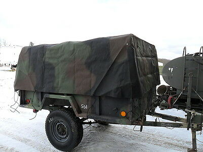 $358 • Buy M101 M101a2 M101a3 3/4 Ton Trailer Cargo Cover Supports M35 M35a2 M923 8382966-2