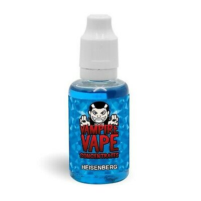 £11.99 • Buy Vampire Vape Heisenberg Concentrated Flavour Concentrate For DIY Liquid Mixing