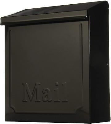 $23.64 • Buy Wall Mount Mail Box Heavy Duty Galvanized Steel Mailbox Home 10.75 Inches