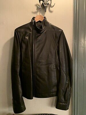 Rick Owens Mens Leather Jacket Worn Once Only Size 48 • 725£
