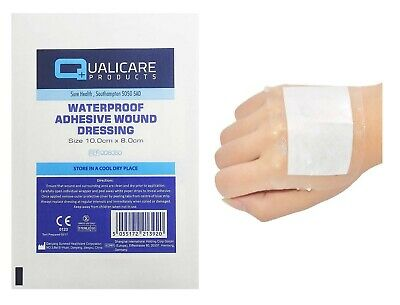 £4.97 • Buy Waterproof - Adhesive Wound Dressings Sterile - Cuts & Wounds -Transparent