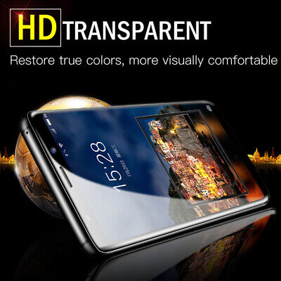 $ CDN3.12 • Buy For Samsung Galaxy S21 Note 10+ S20 HD Clear Full Coverage Soft Screen Protector