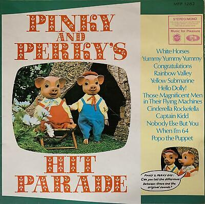 £5.99 • Buy Pinky And Perky - Pinky And Perky's Hit Parade (LP) (G+/G++)