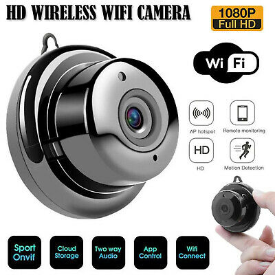 £15.69 • Buy HD 1080P Mini Wireless Wifi Camera IP CCTV Night Vision In/Outdoor Home Security