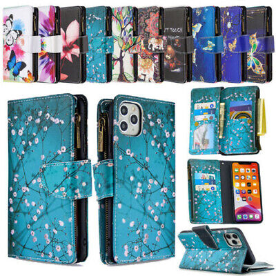 AU7.52 • Buy  For LG Stylo 5/6/7 Luxury Leather Bling Card Holder Flip Wallet Case With Strap