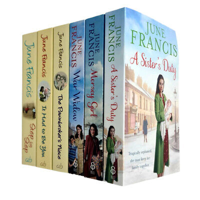 £16.99 • Buy June Francis 6 Books Collection Set (Sister, Niece,Step By, Girl, War, It Had)