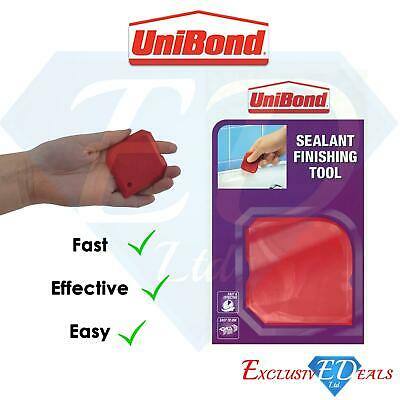 £3.65 • Buy Unibond 5in1 Sealant Silicone Mastic Finish Tool 20g Fat & Effective Easy Use