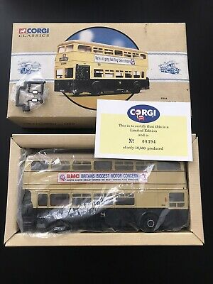 $ CDN43.09 • Buy Corgi Daimler Fleetline Birmingham City Transport Double Decker Bus Limited Edit