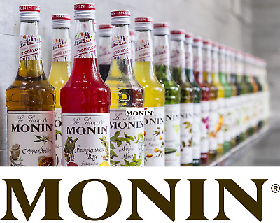£9.99 • Buy Official MONIN Syrups For Coffee & Drinks. AS USED BY STARBUCKS & COSTA ETC