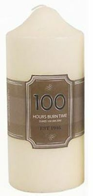 £2.99 • Buy 100 Hours Burn Time Overdipped Church Pillar Candle