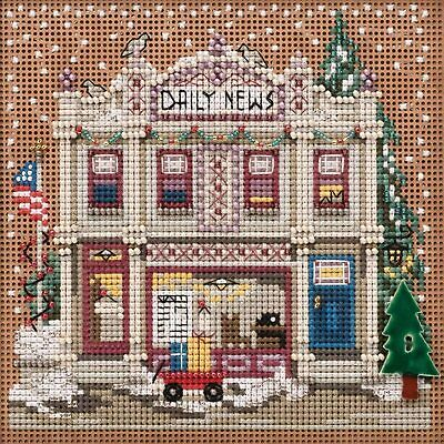 $12.99 • Buy Mill Hill Buttons & Beads Counted Cross Stitch Kit Daily News MH141934