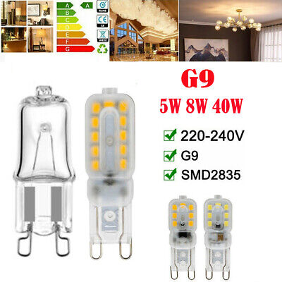 AU2.49 • Buy G9 40W Halogen LED Bulbs 5W/8W Filament Bulb Lamp Bulb AC220V Warm Cool/White