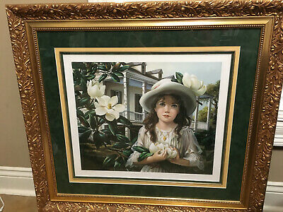 $2500 • Buy PATI BANNISTER  Magnolias  #271/950 With COA