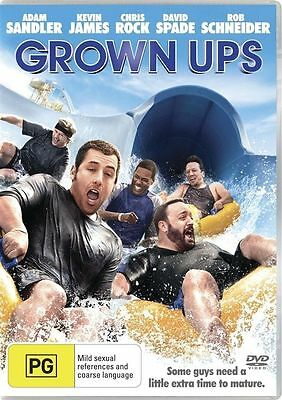 AU14.95 • Buy Grown Ups Adam Sandler Region 4 DVD Brand New