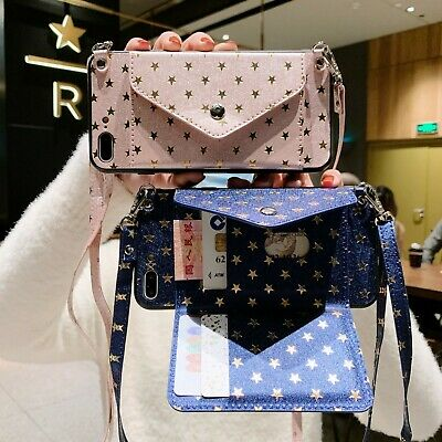 AU7.99 • Buy For Various Phone Star Multifunction Card Package Wallet Stand Strap Case Cover