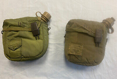$ CDN30.82 • Buy 2 Military 2 Quart Canteen W Insulated Carrying Pouch Olive Drab
