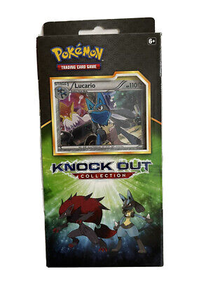 $21 • Buy Pokemon Knockout Collection Box New SEALED Lucario