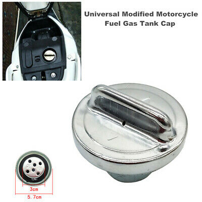 $12.99 • Buy Universal Modified Motorcycle Fuel Gas Tank Cap Cover Fit For Honda Ducati BMW