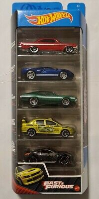 AU34 • Buy Hot Wheels 5 Pack Fast And Furious 2021 Impala Gt-40 Gran Torino Evolution 350z