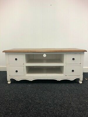 £65 • Buy Provence Wooden Tv Stand Unit With 4 Drawers (Ex Display)