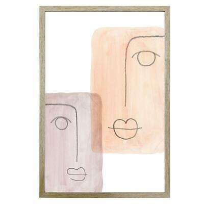AU129 • Buy Mixed Emotions Framed Wall Print With Glass 60x90cm