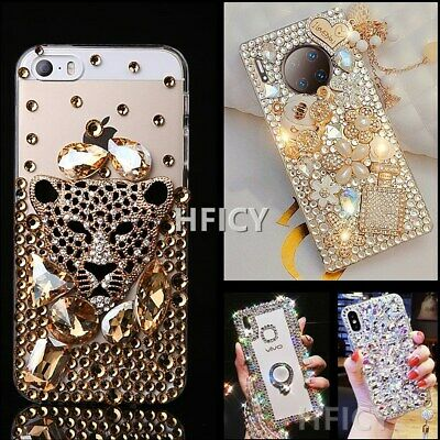 AU13.72 • Buy For OPPO Phone Covers Women Jewelled Bling Crystals Soft Phone Protective Case B