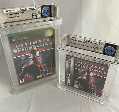 £2924.93 • Buy (2) WATA 9.8 & 9.4 A++ SEALED Ultimate Spider-Man (Game Boy Advance, XBOX, 2005)