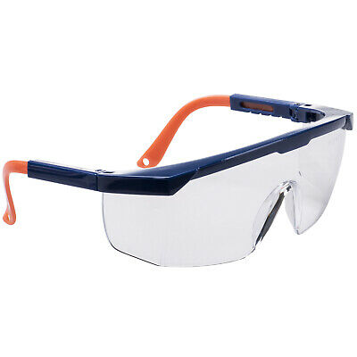 £4.89 • Buy Safety Glasses FREE Neck Cord Side Protection PPE Specs Anti Fog Scratch 99% UV
