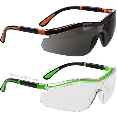 £4.79 • Buy Adjustable Arm Safety Specs PPE Durable Work Glasses Cycling Sports UV Protect